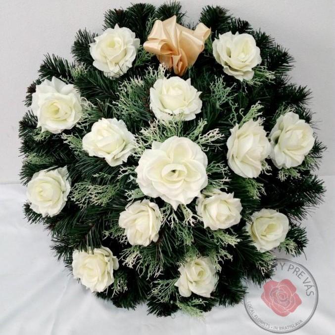 Veniec umelý kruh ruže