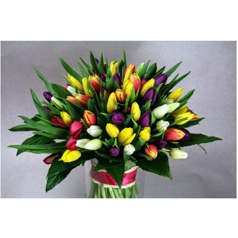 Kytica tulipánov mix farieb
