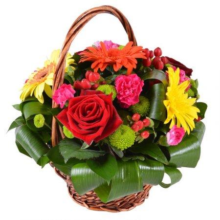 Kvetinový košík TRIGATRI