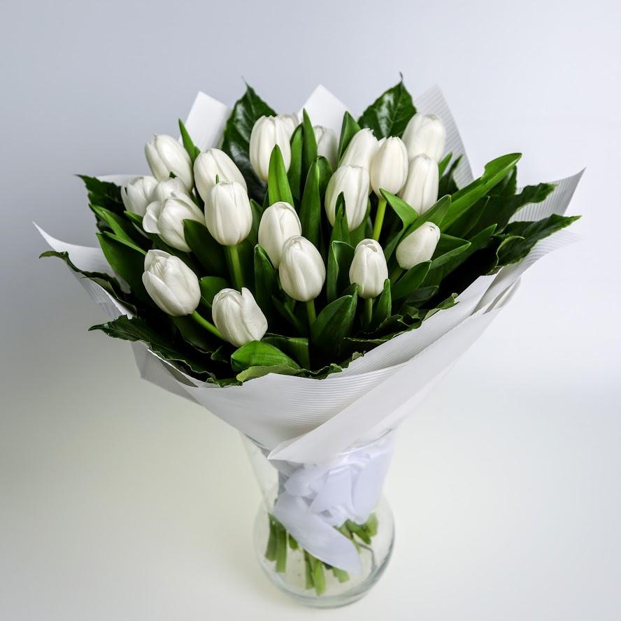 Kytica Biele tulipány