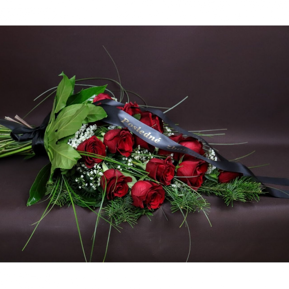 Smútočná kytica elegantná
