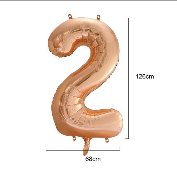 Fóliový balón číslo 2