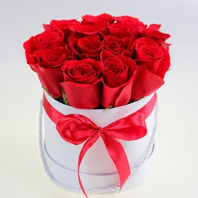 Box z ruží od 11-50 ks