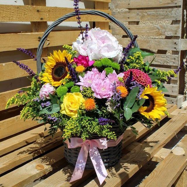 Kvetinový košík Summer