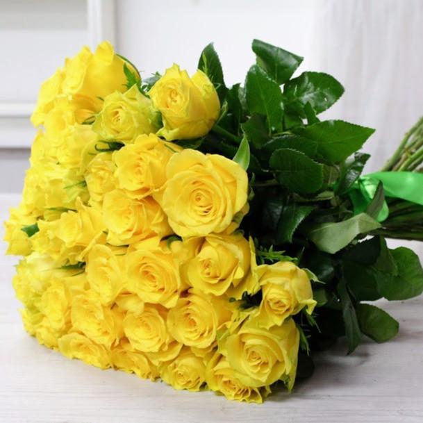 Kytica z ruží EXTRA Žltá