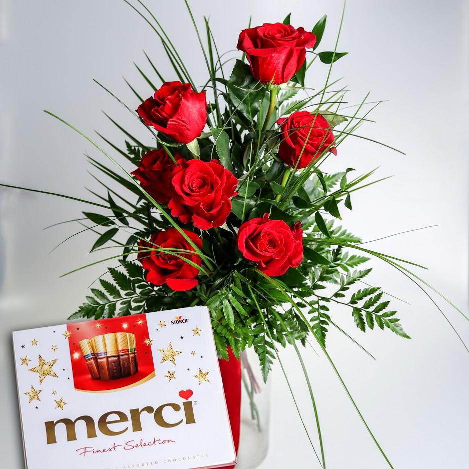 Sedem ruží s Merci