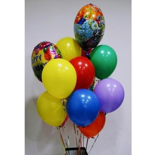 Kytica mix farieb balónov