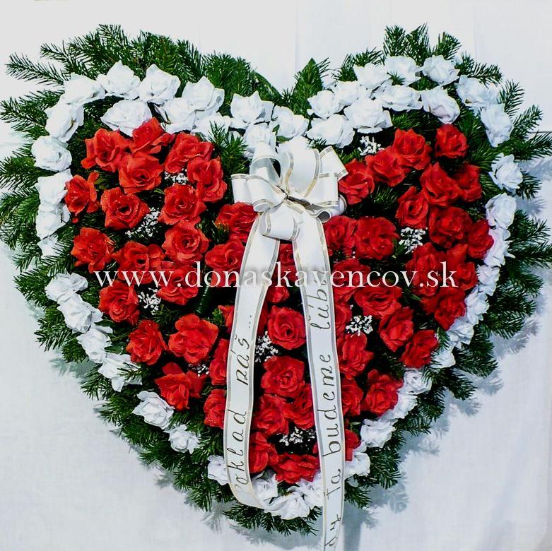 Veniec - živý základ a umelé kvety